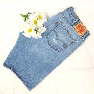 Levi's Vintage 505 Distressed Light Jean Shorts